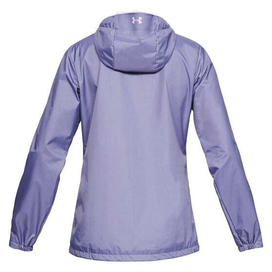 Under Armour Womens UA Forefront Jacket, Purple, rebel_hi-res