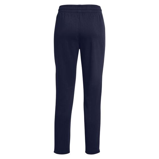 Under Armour Womens Rival Fleece Gradient Pants, Navy, rebel_hi-res