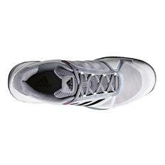 adidas Barricade Club Mens Tennis Shoes White / Grey US 7, White / Grey, rebel_hi-res