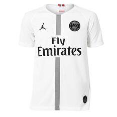 Paris Saint Germain FC 2018/19 Air Jordan Kids 3rd Jersey White XS, White, rebel_hi-res