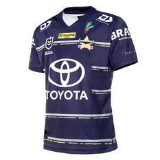 North Queensland Cowboys 2021 Mens Defence Jersey, Navy, rebel_hi-res