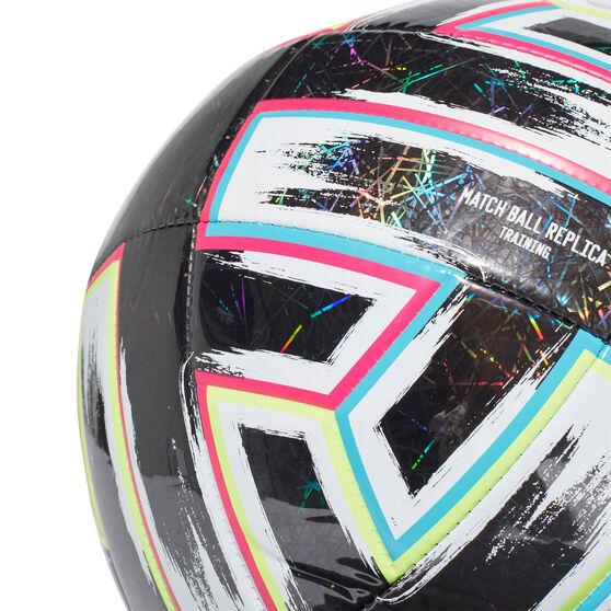 adidas Uniforia Trainer Soccer Ball, White / Multi, rebel_hi-res