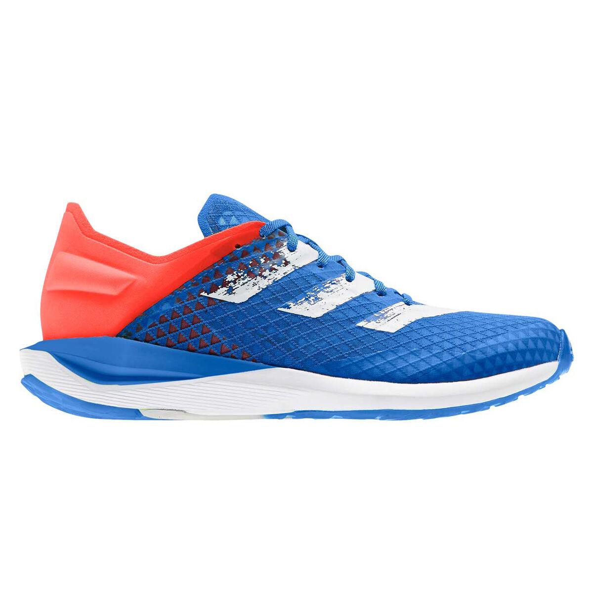 nike wmns free 5.0 women women pink bright blue | adidas RapidaFaito SUMMER.RDY Kids Running Shoes