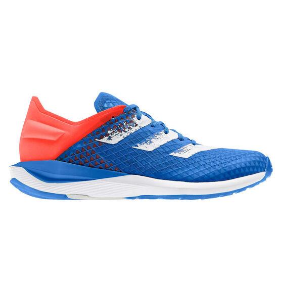 adidas RapidaFaito SUMMER.RDY Kids Running Shoes, Blue / Orange, rebel_hi-res