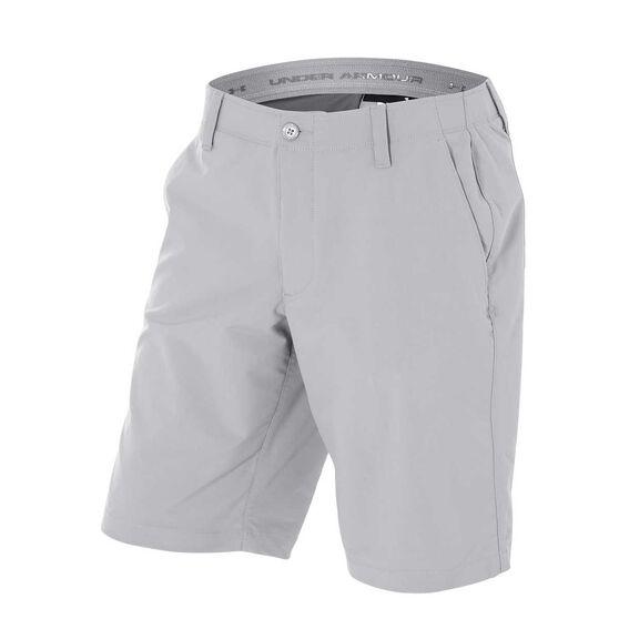 Under Armour Mens Matchplay Shorts Grey S Adult, Grey, rebel_hi-res