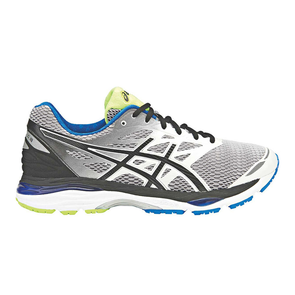 chaussures de séparation b8201 4ec0a Asics Gel Cumulus 18 Mens Running Shoes Silver / Black US 9