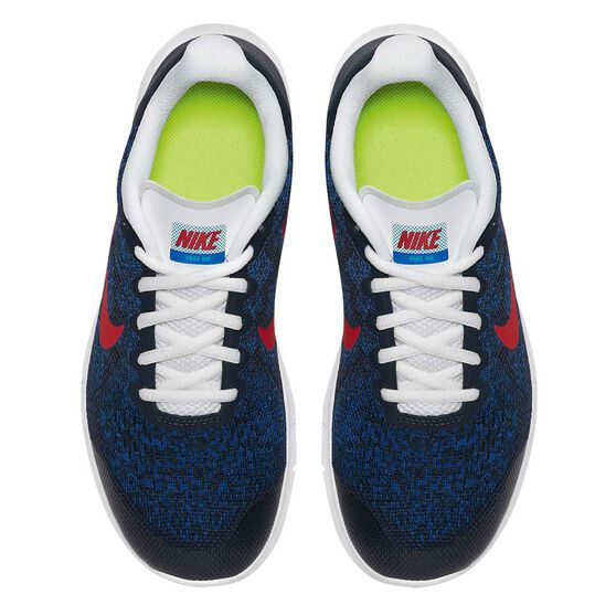 Nike Free Run 2017 Boys Running Shoes Black / Red US 7, Black / Red, rebel_hi-res