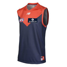 Melbourne Demons 2018 Mens Home Guernsey, , rebel_hi-res