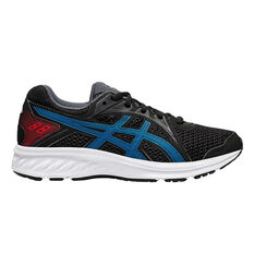 Asics Jolt 2 Kids Running Shoes Black/Blue US 4, , rebel_hi-res
