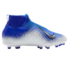 Nike Phantom Vision Academy Kids Football Boots Blue / Black US 1, Blue / Black, rebel_hi-res