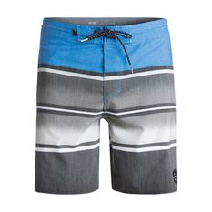 Quiksilver Mens Swell Vision 18in Board Shorts Blue 30 Adult, Blue, rebel_hi-res