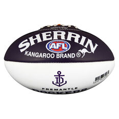 Sherrin AFL Fremantle Dockers Softie Ball, , rebel_hi-res