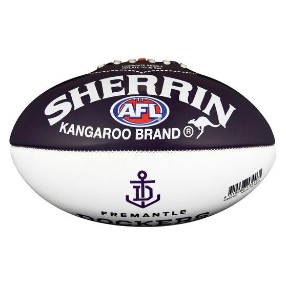 Sherrin AFL Fremantle Dockers Softie Ball, , rebel_hi-res