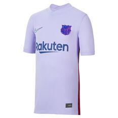 FC Barcelona 2021/22 Youth Replica Away Jersey Purple 8, Purple, rebel_hi-res