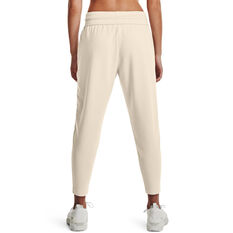 Under Armour Womens Project Rock Terry Pants, White, rebel_hi-res
