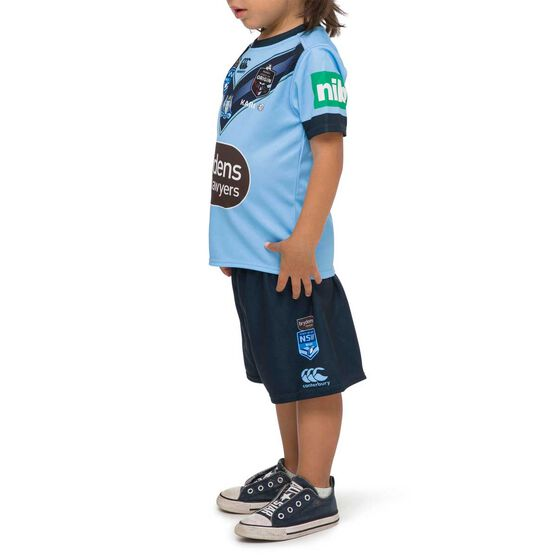 NSW Blues State Of Origin 2020 Kids Jersey, Blue, rebel_hi-res