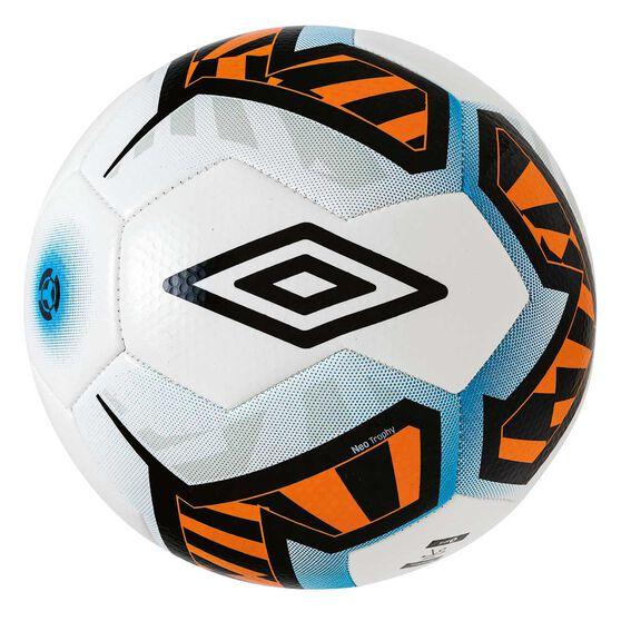 Umbro Neo Trophy Soccer Ball, White / Black, rebel_hi-res