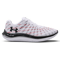 Under Armour Flow Velociti Wind Womens Running Shoes White/Red US 6, White/Red, rebel_hi-res