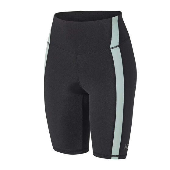 Jaggad Womens Fairmont Spin Shorts, Black, rebel_hi-res