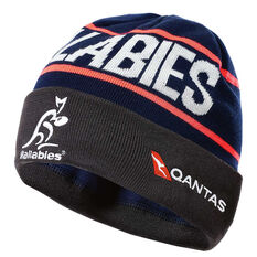 Wallabies 2018 Training Beanie, , rebel_hi-res