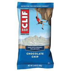 Clif Bar 68g Crunchy Chocolate Chip Bar 68g Chocolate Chip, , rebel_hi-res