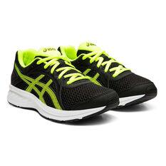 Asics Jolt 2 Kids Running Shoes, Black / Yellow, rebel_hi-res