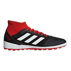 adidas Predator Tango 18.3 Mens Touch and Turf Boots Black / White US 7, Black / White, rebel_hi-res