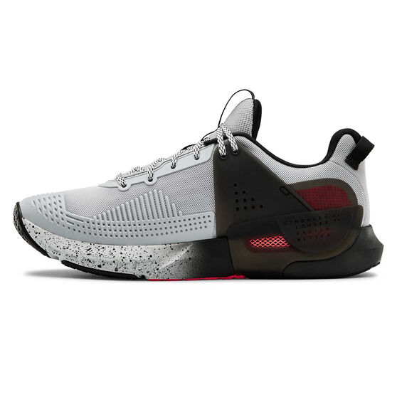 Under Armour HOVR Apex Mens Training Shoes, Grey / Black, rebel_hi-res