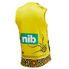 Richmond Tigers 2020 Mens Indigenous Guernsey Yellow S, Yellow, rebel_hi-res