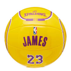 Spalding NBA LeBron James Mini Basketball, , rebel_hi-res