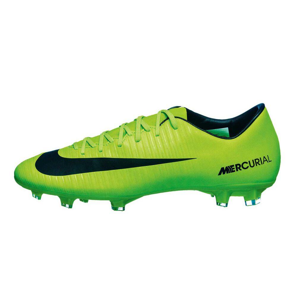 233bb395358d Nike Mercurial Victory VI Mens Football Boots Green / Black US 8 Adult,  Green /