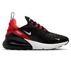 Nike Air Max 270 Kids Casual Shoes Black/White US 4, Black/White, rebel_hi-res