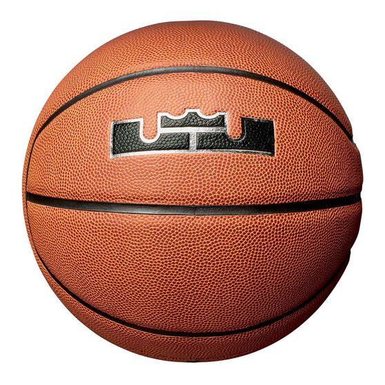 Nike LeBron All Courts Basketball Orange 7, , rebel_hi-res
