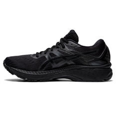 Asics GT 2000 9 D Womens Running Shoes Black US 6, Black, rebel_hi-res