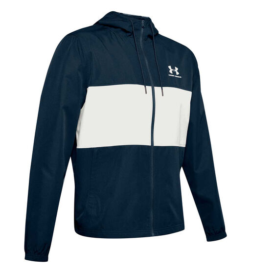 Under Armour Mens Sportstyle Wind Jacket, Navy, rebel_hi-res