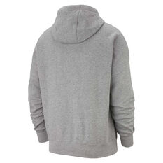 Nike Sportswear Mens Club Fleece Hoodie Grey XS, Grey, rebel_hi-res