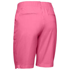 Under Armour Womens Links Golf Shorts Pink 8, Pink, rebel_hi-res