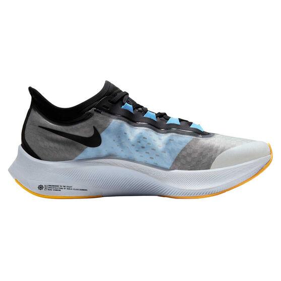 Nike Zoom Fly 3 Mens Running Shoes, White / Black, rebel_hi-res