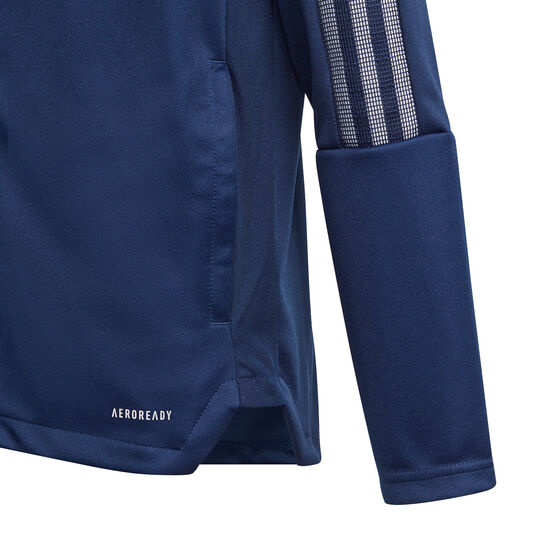 adidas Boys Tiro 21 Track Jacket, Blue, rebel_hi-res
