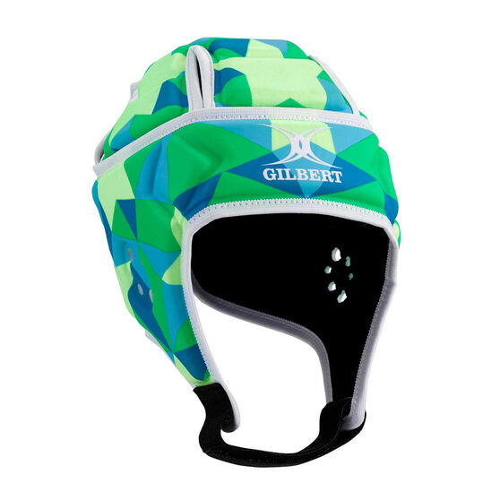Gilbert Attack Matrix Protective Headgear Blue / Green M, Blue / Green, rebel_hi-res