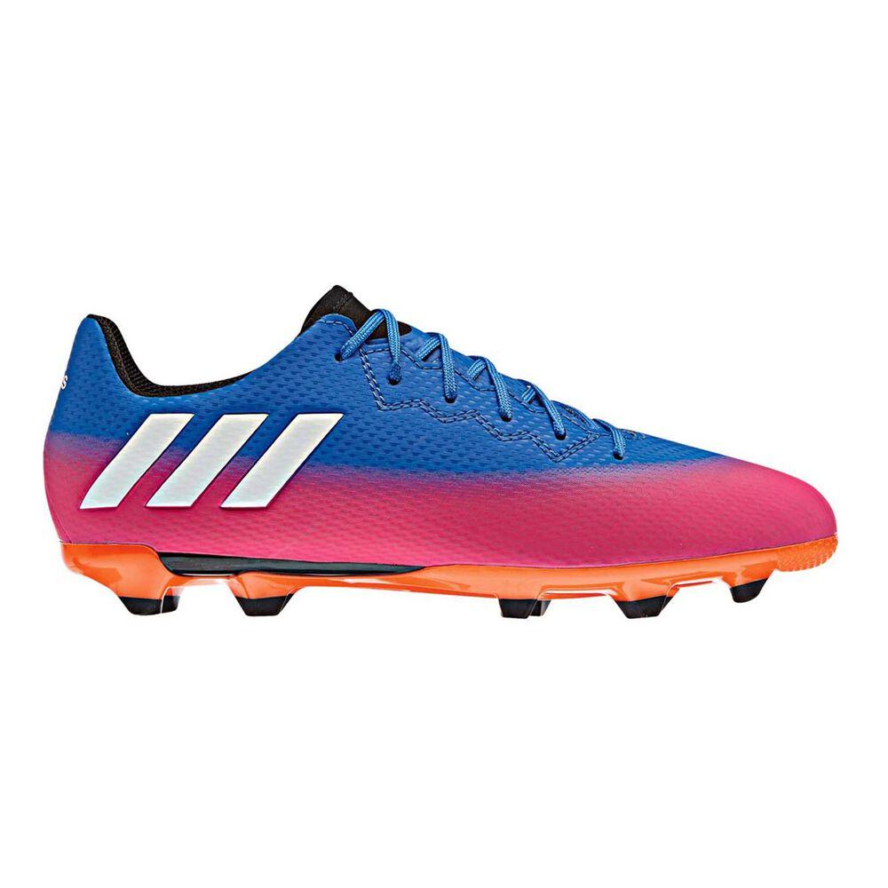 7c9b8a0df Messi 16.3 Junior Football Boots Blue / Orange US 11 Junior, Blue / Orange,