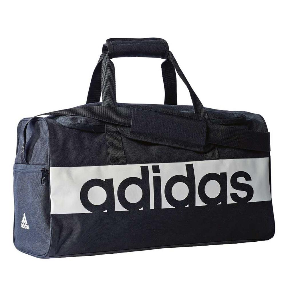 8512a60e3059 adidas Linear Performance Sports Bag Black   White