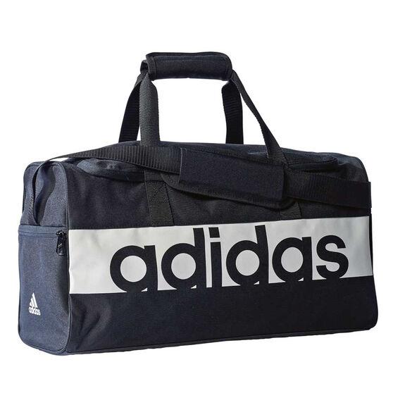 e210976fb9d7 adidas Linear Performance Sports Bag Black   White