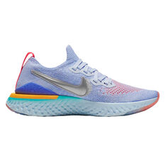2833f55d3342 Nike Epic React Flyknit 2 Kids Running Shoes Pink   Grey 4