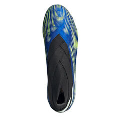 adidas Nemeziz + Football Boots, Blue/White, rebel_hi-res