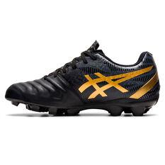 Asics Lethal Tigreor IT FF 2 Kids Football Boots Black/Gold US 1, Black/Gold, rebel_hi-res