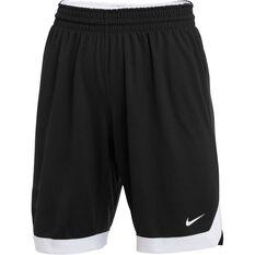 Nike Practice Womens Basketball Shorts Black XS, Black, rebel_hi-res