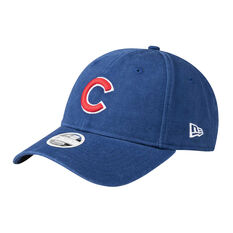 Chicago Cubs Womens New Era 9FORTY Washed Cap, , rebel_hi-res