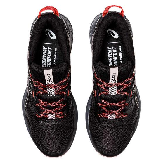 Asics GEL Sonoma 5 D Womens Trail Running Shoes, Black, rebel_hi-res