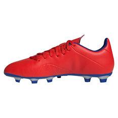 b30606271f32 ... adidas X 18.4 Mens Football Boots Red / Silver US Mens 7 / Womens 8,